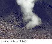 Гора Этна в Италии. Вулкан, извержение которого может начаться в любую минуту (2010 год). Стоковое фото, фотограф masebora / Фотобанк Лори