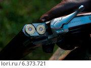 Купить «A close-up of a hunter and his gun», фото № 6373721, снято 22 января 2019 г. (c) Ingram Publishing / Фотобанк Лори
