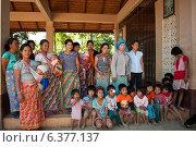 Купить «Mae Sai, Thailand, a mountain people, mothers with their children», фото № 6377137, снято 11 февраля 2011 г. (c) Caro Photoagency / Фотобанк Лори