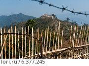 Chiang Mai, Thailand, the Khao Hua Lon Myanmar Army Base in the border area (2011 год). Редакционное фото, агентство Caro Photoagency / Фотобанк Лори
