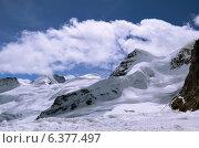 Швейцарские Альпы. Вид с Jungfraujoch в направлении Aletschgletscher (2014 год). Стоковое фото, фотограф Людмила Герасимова / Фотобанк Лори
