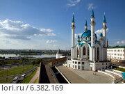 Казань мечеть Кул Шариф (2014 год). Редакционное фото, фотограф Тимур Кузяев / Фотобанк Лори