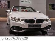 Купить «BMW 4 серии (кабриолет)», фото № 6388629, снято 3 сентября 2014 г. (c) Павел Лиховицкий / Фотобанк Лори