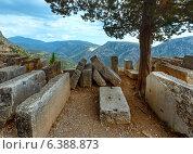 Купить «Excavations of the ancient city (Greece)», фото № 6388873, снято 7 июня 2014 г. (c) Юрий Брыкайло / Фотобанк Лори