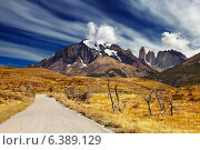 Torres del Paine National Park, Patagonia, Chile. Стоковое фото, агентство Ingram Publishing / Фотобанк Лори