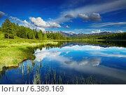 Купить «Beautiful lake in Altai mountains», фото № 6389169, снято 10 апреля 2020 г. (c) Ingram Publishing / Фотобанк Лори