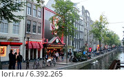 Купить «Район Красных Фонарей (Амстердам)», видеоролик № 6392265, снято 10 сентября 2014 г. (c) FMRU / Фотобанк Лори