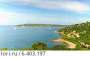 Купить «Французская ривьера, таймлапс», видеоролик № 6403197, снято 15 сентября 2014 г. (c) Алексас Кведорас / Фотобанк Лори