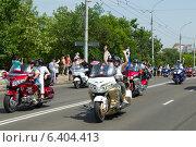 Купить «Международный фестиваль байкеров в Бресте», фото № 6404413, снято 24 мая 2014 г. (c) Андрей Рыбачук / Фотобанк Лори