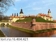 Купить «Средневековый замок в Несвиже, Республика Беларусь», фото № 6404421, снято 27 апреля 2013 г. (c) Андрей Рыбачук / Фотобанк Лори