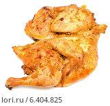 Купить «Курица гриль на белом фоне», фото № 6404825, снято 10 апреля 2014 г. (c) Насыров Руслан / Фотобанк Лори