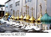 Купить «Купола», фото № 6407057, снято 16 февраля 2013 г. (c) Шумилов Владимир / Фотобанк Лори