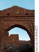 Ruins of building, Ouarzazate, Morocco (2012 год). Стоковое фото, агентство Ingram Publishing / Фотобанк Лори