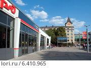 Купить «Северный вокзал. Калининград», эксклюзивное фото № 6410965, снято 7 сентября 2014 г. (c) Svet / Фотобанк Лори