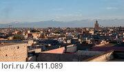 Купить «High angle view of a city, Marrakesh, Morocco», фото № 6411089, снято 9 декабря 2012 г. (c) Ingram Publishing / Фотобанк Лори