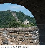 Купить «Mutianyu section of Great Wall Of China, Huairou District, Beijing, China», фото № 6412389, снято 23 августа 2012 г. (c) Ingram Publishing / Фотобанк Лори