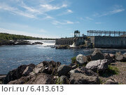 Купить «Dam at Bishop's Falls, Newfoundland And Labrador, Canada», фото № 6413613, снято 25 августа 2013 г. (c) Ingram Publishing / Фотобанк Лори