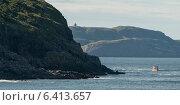 View of coast, Cape Spear, St. John's, Newfoundland And Labrador, Canada (2013 год). Стоковое фото, агентство Ingram Publishing / Фотобанк Лори