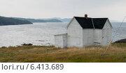 Купить «Boarded up House at the coast, Keels, Bonavista Peninsula, Newfoundland And Labrador, Canada», фото № 6413689, снято 23 августа 2013 г. (c) Ingram Publishing / Фотобанк Лори