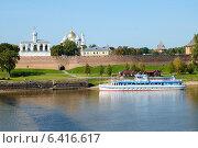 Новгородский кремль (2014 год). Редакционное фото, фотограф Антон Каменский / Фотобанк Лори