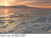 Купить «Закат в бухте Нагаева. Магадан», фото № 6423297, снято 2 января 2011 г. (c) Антон Афанасьев / Фотобанк Лори