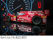 Купить «Mazda SKYACTIV-D Prototype. Московский международный автомобильный салон 2014», эксклюзивное фото № 6423801, снято 29 августа 2014 г. (c) Сергей Лаврентьев / Фотобанк Лори