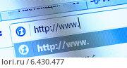 Купить «Интернет-адрес, экран компьютера», фото № 6430477, снято 11 августа 2014 г. (c) Валерия Потапова / Фотобанк Лори
