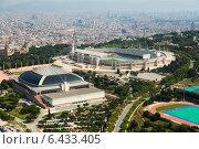 Купить «Olimpic area of Montjuic. Barcelona», фото № 6433405, снято 1 августа 2014 г. (c) Яков Филимонов / Фотобанк Лори
