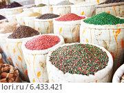 Купить «spices at east street market», фото № 6433421, снято 3 августа 2011 г. (c) Дмитрий Калиновский / Фотобанк Лори