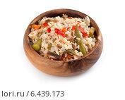 Купить «Рис с овощами», фото № 6439173, снято 17 сентября 2014 г. (c) Александр Лычагин / Фотобанк Лори