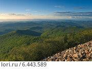 Купить «Вечер в горах Сихотэ-Алинь», фото № 6443589, снято 12 сентября 2014 г. (c) Владимир Серебрянский / Фотобанк Лори