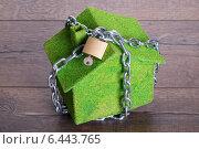 Купить «House security concept», фото № 6443765, снято 17 июля 2014 г. (c) Андрей Попов / Фотобанк Лори