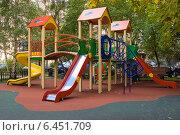 Детский игровой комплекс (2014 год). Редакционное фото, фотограф Анастасия Козлова / Фотобанк Лори