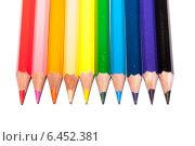 Цветные карандаши. Стоковое фото, фотограф Виктор Аксёнов / Фотобанк Лори