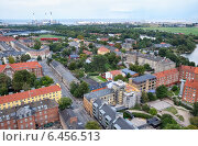 Купить «The bird's eye view from the Church of Our Saviour to Christiania.», фото № 6456513, снято 22 августа 2014 г. (c) Serg Zastavkin / Фотобанк Лори