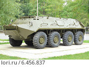 Купить «БТР-60ПБ», фото № 6456837, снято 22 сентября 2014 г. (c) Алексей Сварцов / Фотобанк Лори