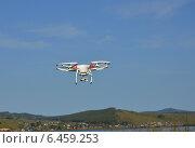 Квадрокоптер. Стоковое фото, фотограф Максим Адылшин / Фотобанк Лори