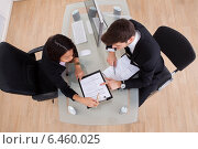 Купить «Business Colleagues In Meeting», фото № 6460025, снято 9 марта 2014 г. (c) Андрей Попов / Фотобанк Лори