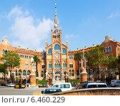 Купить «Hospital de la Santa Creu i Sant Pau in Barcelona», фото № 6460229, снято 13 сентября 2014 г. (c) Яков Филимонов / Фотобанк Лори