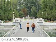 """Купить «Парк """"Зеленый остров"""", город Черкесск», фото № 6500869, снято 22 сентября 2014 г. (c) Алексей Сварцов / Фотобанк Лори"""