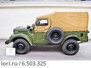 Купить «ГАЗ-69 (УАЗ-69) на ВДНХ», эксклюзивное фото № 6503325, снято 12 августа 2014 г. (c) Алёшина Оксана / Фотобанк Лори