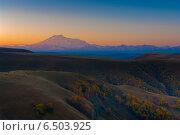 На горном перевале. Стоковое фото, фотограф Эдуард Сычев / Фотобанк Лори