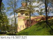 Башня-руина. Екатерининский парк. (2014 год). Редакционное фото, фотограф Геннадий Машанин / Фотобанк Лори