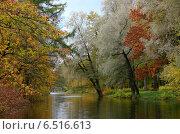 Октябрь. Осенний пейзаж. Стоковое фото, фотограф Андрей Кудряшов. / Фотобанк Лори