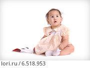 Купить «Ребенок  мечтает», фото № 6518953, снято 28 декабря 2011 г. (c) Наталья / Фотобанк Лори