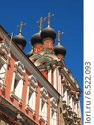 Купить «Церковь Николая Чудотворца, что на Болвановке, в Москве», эксклюзивное фото № 6522093, снято 3 июля 2009 г. (c) lana1501 / Фотобанк Лори
