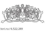 Купить «Узор с голубями на белом фоне», иллюстрация № 6522289 (c) Дмитрий Никитин / Фотобанк Лори
