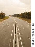 Новое шоссе Москва-Санкт-Петербург. Стоковое фото, фотограф Соколов Дмитрий / Фотобанк Лори
