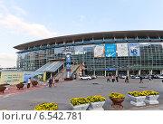 Купить «Главный железнодорожный вокзал г. Пусан, Южная Корея», фото № 6542781, снято 25 сентября 2014 г. (c) Иван Марчук / Фотобанк Лори