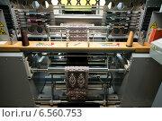 Ткацкий станок. Редакционное фото, фотограф Ирина Дайнакова / Фотобанк Лори